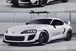Is This What The New Toyota Supra Should Have Looked Like?