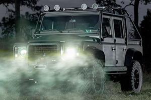 Corvette-Powered Land Rover Defender Packs Over 500 HP