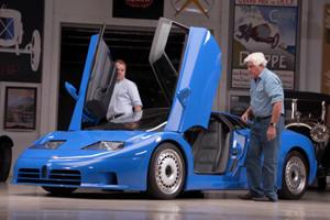 Jay Leno Drives Iconic Quad-Turbo Bugatti EB110