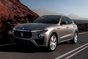 Maserati Levante Vulcano Boasts Stunning Matte Finish