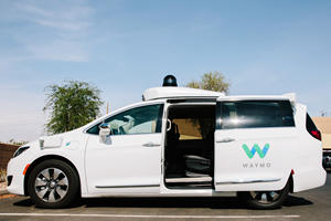 Waymo's Autonomous Taxi Apparently Gets Confused By Rain