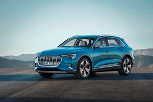 Audi's Smaller e-tron  Model Arriving Sooner Than Expected