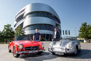 Porsche And Mercedes Have A Serious Bromance