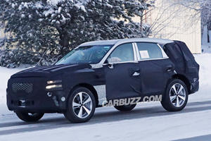Here's A First Look At The Genesis GV80 Luxury SUV