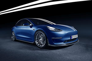 Tesla Model 3 Gets A Whole New Look