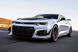 2019 Chevrolet Camaro ZL1 1LE Arrives With New 10-Speed Auto