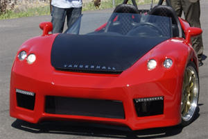 Vanderhall Introduce Three-Wheel Roadster Prototype
