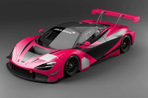 Pink McLaren 720S GT3 Heads For Japan