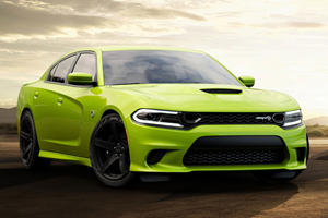 Dodge Charger And Challenger Look 'Sublime' In Bright Green