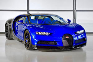 The First Bugatti Chiron Sport Has Left The Factory
