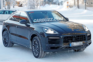 Porsche Cayenne Coupe Prepares To Battle BMW X6