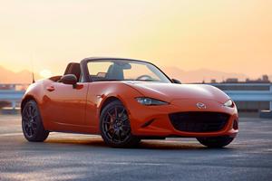 Mazda Celebrates Miata's 30th Anniversary With New Special Edition