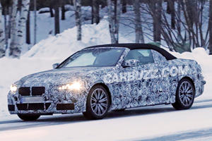 New BMW 4 Series Convertible Shows Its Cold Side