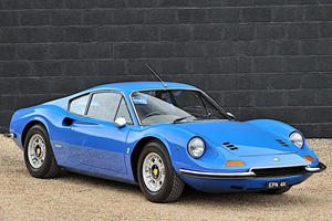 Extremely Rare Ferrari Dino Up For Sale