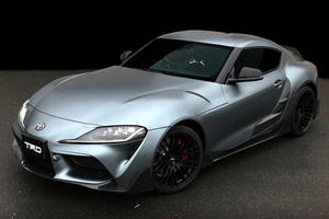 Presenting The Toyota Supra Performance Line Concept TRD