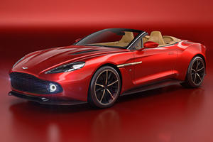 Aston Martin Vanquish Zagato Volante's Grille Costs More Than A Golf R