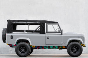 This Land Rover Defender Is No Ordinary Art Car