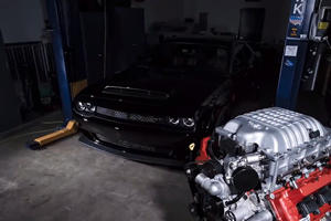 Dodge Challenger Demon Time-Lapse Rebuild Is Awesome