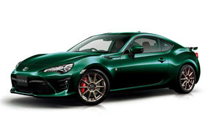 Special Edition Toyota 86 Comes In British Racing Green