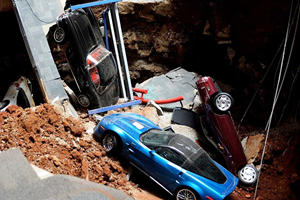 Earth Swallowed 8 Corvettes Five Years Ago This Week