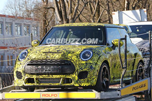 New Mini John Cooper Works GP Spied With Aggressive Aero