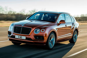 Surprise! Bentley Bentayga Speed Is New Fastest SUV In The World