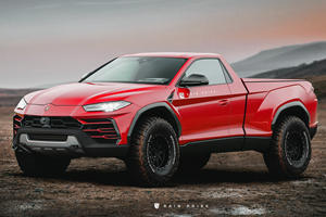 A Lamborghini Pickup Would Destroy The Ford F-150 Raptor