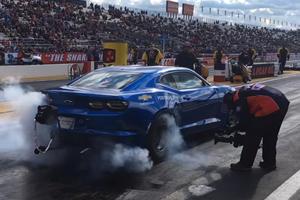 Watch The Chevrolet eCOPO Camaro Blast Into The 9-Second Club