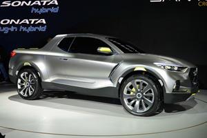 Hyundai Ditches Santa Cruz Concept's Funky Design