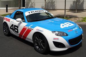Playboy Playmates Host Mazda MX-5 Cup at Laguna Seca