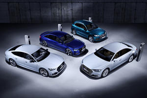 Audi Rolls Out New Range Of Plug-In Hybrids