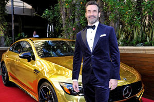 Mercedes AMG GT 4-Door Wins At The Oscars