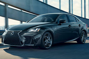 2019 Lexus IS 300 F Sport Gets The Black Line Treatment