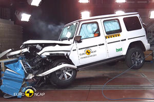 2019 Mercedes G-Class Crashes Its Way To 5-Star Safety Rating