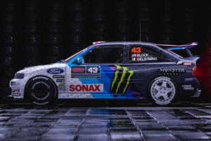 Ken Block's Crazy Ford Escort Rally Returns From The Dead