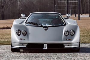 Behold! First-Ever Pagani Zonda C12 Restored For 20th Anniversary