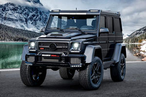 Brabus Gives The Old Mercedes G-Class An 800-HP Send-Off