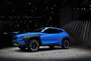 Subaru Viziv Adrenaline Concept Looks Like The Next Crosstrek