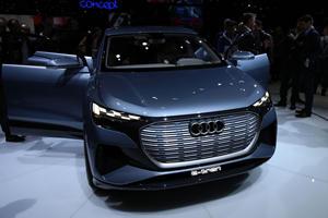 Audi Q4 Concept Previews A Smaller e-tron To Come