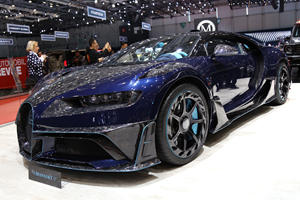 Bugatti Chiron One Of Ten Exotics Mansory Ruined For Geneva