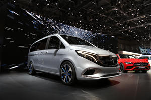 Mercedes-Benz Previews The Electric Van Of The Future