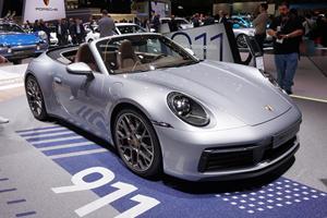 2020 Porsche 911 Cabriolet Breaks Cover At Geneva