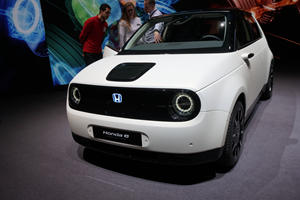 The Adorable Honda E Prototype Looks Almost Production Ready