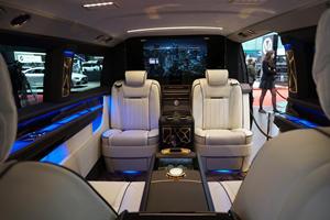 Okcu Automotive Mercedes V-Class Is A Van Fit For A King