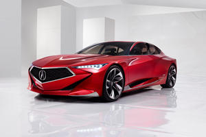 Acura Will Introduce Sportiest Sedan Ever At Pebble Beach