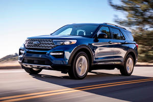 2020 Ford Explorer Can Be Equipped With Self-Healing Tires