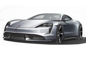 Porsche Taycan Looks Stunning In New Teaser Sketches
