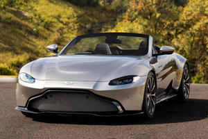 Here's When The Aston Martin Vantage Roadster Will Be Revealed