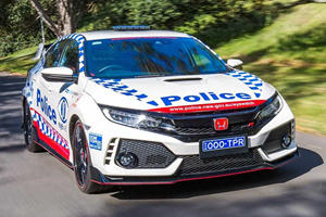 Honda Type R Performs Its Civic Duty Down Under