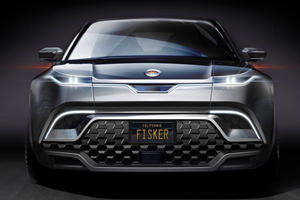 Fisker's New Tesla Model Y Rival Shows Its Face